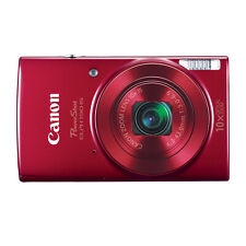 Canon PowerShot ELPH 190 IS Digital Camera (Red)