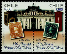 CHILE, 150th. ANNIV. OF THE FIRST CHILEAN STAMP, MNH, YEAR 2003