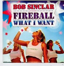 (FG589) Bob Sinclar pres. Fireball, What I Want - 2008 DJ CD