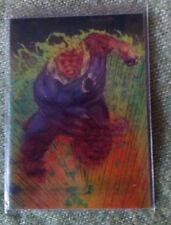 1996 Marvel Motion Trading Cards 3-D Motion card Nº 23 Human Torch
