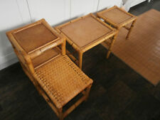Bamboo Vintage/Retro Side & End Tables