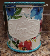 The Pioneer Woman Utensil Holder Crock (Melody) Stoneware - Just Arrived!!