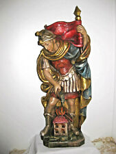 Holzfigur geschnitzt, Heiliger Florian, 60 cm, Südtirol,  TOP 344