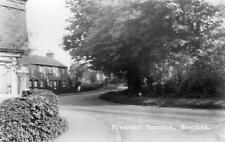 Pleasant Terrace Reepham Lincolnshire ? unused RP old pc E M Woolley