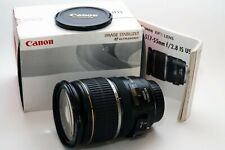 Canon EF-S 17-55mm F/2.8 IS USM Lens Boxed with Filter holder damage