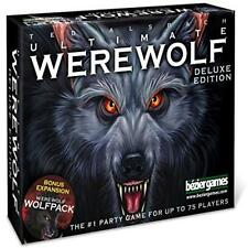 New Ultimate Werewolf Deluxe Edition Board Game Free Toy Play Bezier Games