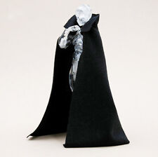 MY-C2-BK: Black collar cape for Figma, SH Figuart, Marvel Legends (No Figure)