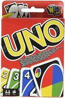 UNO Jeu Société Cartes Mattel W2087 Famille Amis Cadeaux Neuf neuf