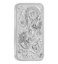 1 oz Silber Münzbarren Motivbarren Drache Perth Mint 2020 (Feinsilber 31,1 g)
