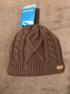 NWT OS Columbia Womens Cabled Cutie Winter Beanie