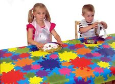 FUNKY COLOUR SPLATS SPLASH MAT/TABLE COVER - PERFECT FOR KIDS CRAFTS