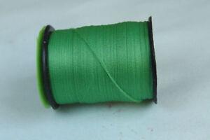 100m Fil PLAT montage VERT FLUO 6/0 pour dubbing mouche fly tying thread green