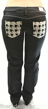 PEPE JEANS AUTHENTIC BLACK Skinny JEANS lower rise sexy LONDON SIZE 26 S NEW geo