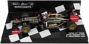 Minichamps Lotus Renault E20 2012 - Kimi Raikkonen 1/43 Scale