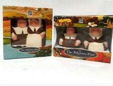 The Pilgrim Pair Collectible Thanksgiving Napkin Holder And Salt & Pepper Shaker