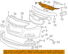 Chevrolet GM OEM 13-15 Malibu Front Bumper Grille Grill-Upper Support 23232813