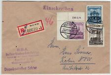 DDR 1955, luogo di Berlino-R-Lettera con bel MIF e minuti TIMBRO-x7994 -