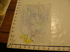 Original ROSE SUSLOVICH ART: geese with spotty background