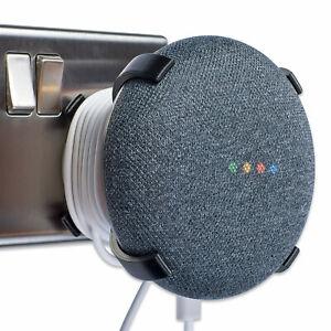 Plug Mount for Google Home Mini, Google Home Mini Plug Mount X Black, P3D-LAB®