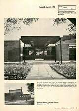 1970 The Main Entrance Canopy, Priory Methodist Church, Bedford