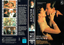 (VHS) Bugsy - Warren Beatty, Annette Bening, Harvey Keitel, Ben Kingsley (1991)