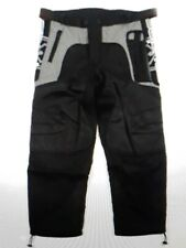 SPYDER COMPETITION PAINTBALL PANTS BLACK GRAY XL 40-42 NWT