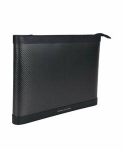 Porsche Design Carbon Laptop-Tasche Leder Schwarz **NEU**