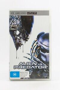 Alien Vs Predator Sony PSP PlayStation Portable UMD Video Movie With Rare Insert