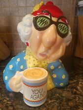 "Vintage Hallmark ""You Again?"" Maxine Cookie Jar By J Wagner."