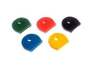 Nuovo Confezione 100 Chiave Coperchio 20 Ogni Di 5 Differenti Colori