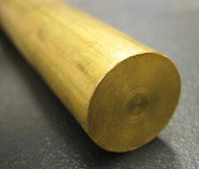 716 04375 Dia X 10 Long C36000 360 Brass Round Rod Bar