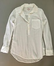NEW Merona Sheer Cotton Popover Tunic Layering Top Coverup Womens Small