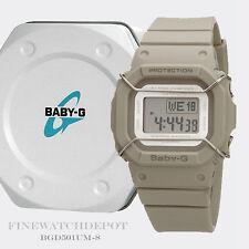 Authentic Casio Baby-G World Time Ladies Watch BGD501UM-8