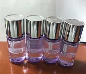 (4) 30ml each Clinique Take The Day Off Makeup Remover For Lids, Lashes & lips