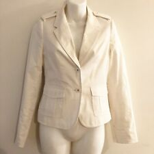The Limited Womens White Blazer Jacket Size XS XSmall