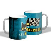 SEV Marchal Mug Vintage Oil Can Effect Car Mechanic Tea Coffee Cup Gift