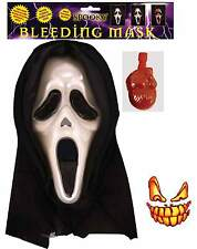 Blutend Maske Halloween Scream Blood Pumps Mit Kapuze Unisex Kostüm Zubehör