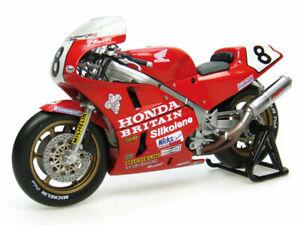 1:12 scale Honda RC30 Carl Fogarty Isle of Man Winner Die-cast Model - J4822
