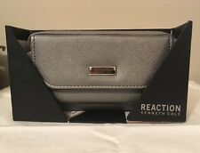 Kenneth Cole Reaction Women's Nicole Women's Wallet Zinc  NWT MSRP $50.00