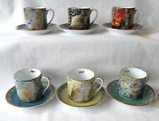 More details for lesley's cats 12 piece coffee, tea set. danbury mint porcelain new. 2001. rare