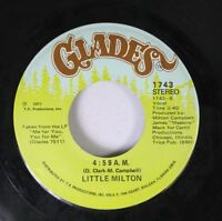 Soul 45 Little Milton - 4:59 A.M. / Loving You On Glades