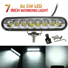 7 Inch 40W 4000LM 8X CREE LED Light Bar Combo Beam Car ATV Offroad 4WD Work Lamp