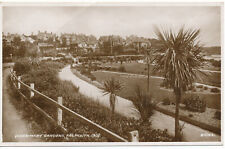 PC18143 Queen Mary Gardens. Falmouth. Valentines series. RP. 1939