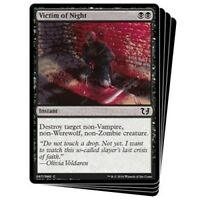 MTG x4 Victim of Night Duel Decks: Blessed Vs. Cursed Common Black NM/M