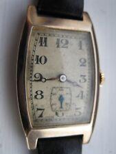 Gold men's wrist watch made in 1934
