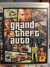 Grand Theft Auto Iv (PlayStation 3, 2008) Ps3 Complete