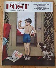 SATURDAY EVENING POST NOVEMBER 29 1952 HERB SHRINER PARACHUTE TESTER CYRIL JOAD
