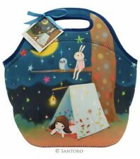 Santoro London Handbag Purse Neoprene Lunch Bag Kori Kumi Starry Night