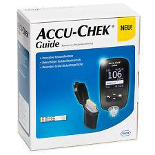 ACCU-CHEK Guide Blutzuckermessgerät mg/dL – Starterset - NEU + Silikonhülle*