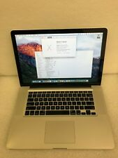 """MacBook Pro 15"""" A1286 Mid 2009 C2D 2.66GHz 4GB 500GB Battery 462 Cycles 30DAYWTY"""